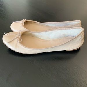 J. Crew Nude Blush Ballet Flats Shoes SZ 9.5